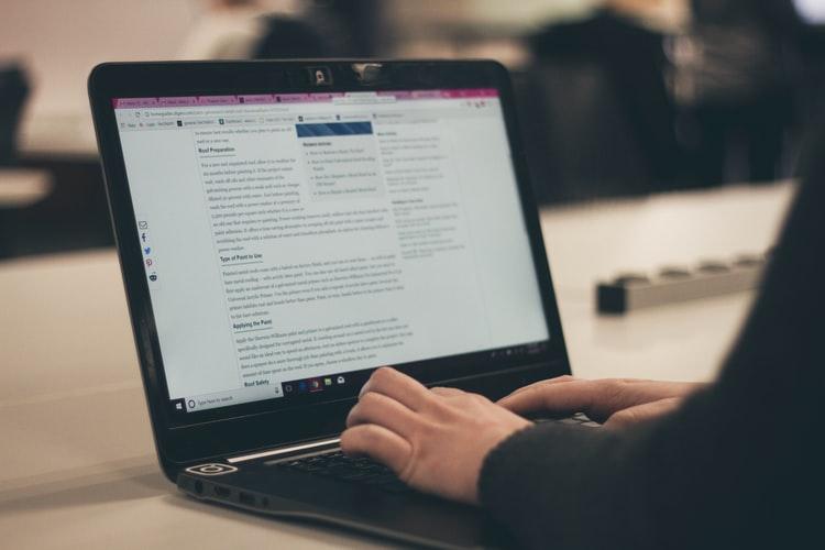 نوشتن محتوای سایت